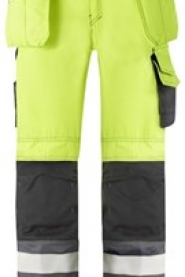 3233 High-Vis Holster Pocket Trousers, Class 2