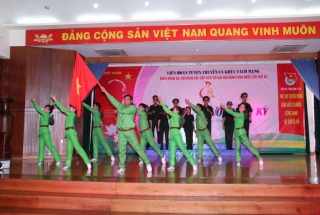 Some pictures of the propaganda contest Revolutionary songs celebrate the Party Congress at all levels 2015-2020 level TCT of 28 Da Nang Joint Stock Company