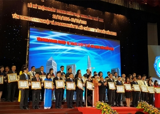 Corporation 28 is honored to receive the Ho Chi Minh City Enterprise Award in 2016